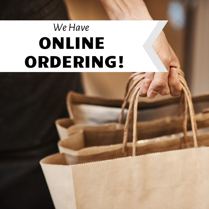 order online at corral saloon and eatery